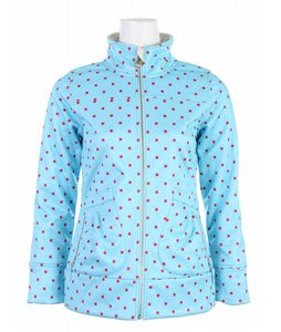 Burton Freedom Softshell Jacket Arctic Polka Squares