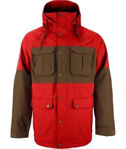 Burton Frontier Snowboard Jacket Campfire/Woody