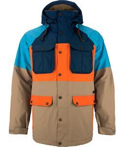 Burton Frontier Snowboard Jacket Cork Coloblock