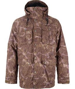 Burton Frontier Snowboard Jacket Peat Camo
