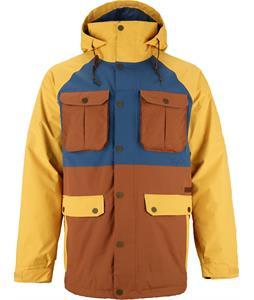 Burton BRTN Frontier Snowboard Jacket Yolky/Team Blue/True Penny