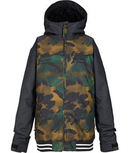 Burton Game Day Snowboard Jacket True Black/Hickory Pop Camo