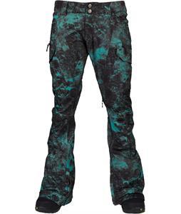 Burton Gloria Snowboard Pants Wren Pretty Oops