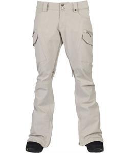 Burton Gloria Snowboard Pants Moon Rock