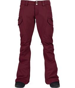 Burton Gloria Snowboard Pants Sangria