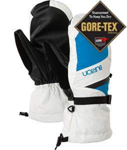 Burton Gore-Tex Mittens White/Blue-Ray