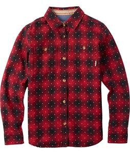 Burton Grace L/S Shirt Chili Pepper Anza Plaid