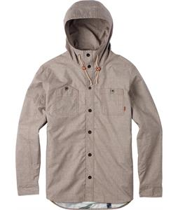 Burton Griffin Hooded Shirt Java Grindle