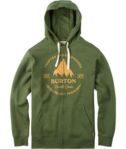 Burton Gristmill Full-Zip Hoodie Rifle Green Heather