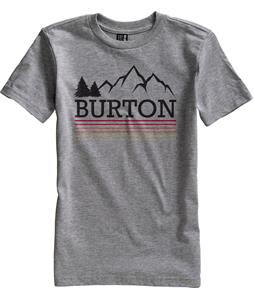 Burton Griswold T-Shirt Heather Gray