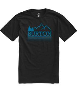 Burton Griswold Recycled Slim Fit T-Shirt Heather True Black