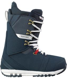 Burton Hail Snowboard Boots Navy/White/Red