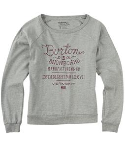Burton Hand Script Slouchy L/S T-Shirt