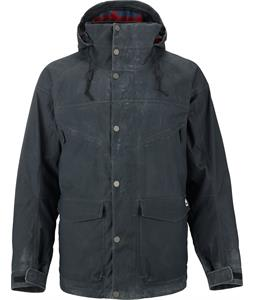 Burton Hellbrook Snowboard Jacket True Black Wax