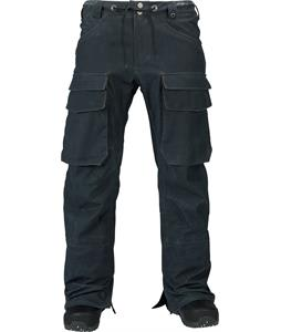 Burton Hellbrook Snowboard Pants True Black Wax