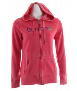 Burton Her Logo Basic Fullzip Hoodie Vain