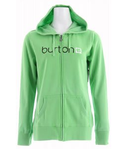 Burton Her Logo Basic Fullzip Hoodie Zest