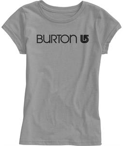 Burton Her Logo T-Shirt Heather Pewter