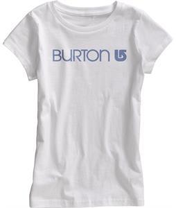 Burton Her Logo T-Shirt Stout White