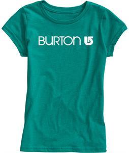 Burton Her Logo T-Shirt Tidal Bore