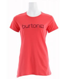 Burton Her Logo T-Shirt Fox Hunt