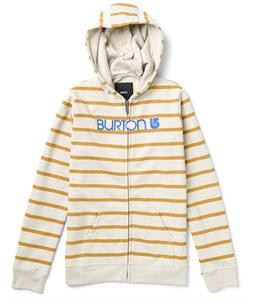 Burton Her Logo Basic Full-Zip Hoodie Heather Haze Stripe