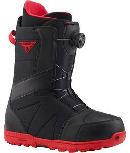 Burton Highline BOA Snowboard Boots Black/Red