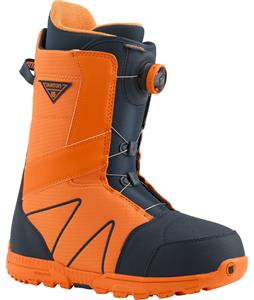 Burton Highline BOA Snowboard Boots Blue/Orange