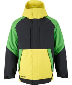 Burton Hilltop Snowboard Jacket True Black Colorblock
