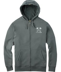 Burton Hold Fast Full-Zip Hoodie Dark Ash
