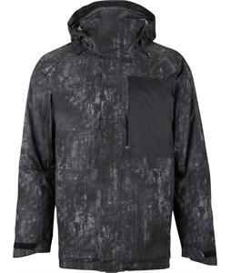 Burton Hostile Snowboard Jacket Black/Washed Out Print