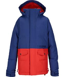 Burton Hot Spot Puffy Snowboard Jacket Deep Sea/Fang