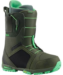 Burton Imperial Snowboard Boots 50 Shades Of Green
