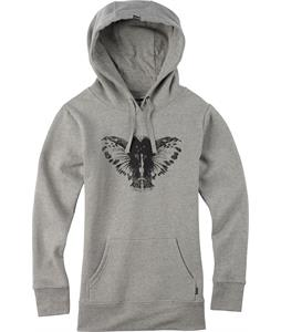 Burton Ink Pullover Hoodie Gray Heather