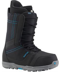 Burton Invader Snowboard Boots Black/Cyan