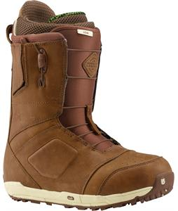 Burton Ion Leather Snowboard Boots Red Wing