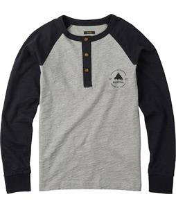 Burton Jacks Henley True Black/Monument Heather