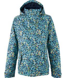 Burton Jet Set Snowboard Jacket Confetti Floral Print
