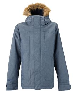 Burton Juliet Snowboard Jacket Blue Denim