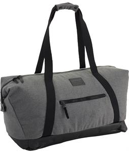 Burton Katie Duffel Bag Gray Wool Leather 39L