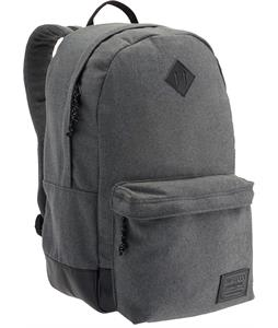 Burton Kettle Backpack Gray Wool Leather 20L
