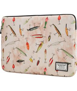 Burton Laptop Sleeve 15in Fishing Lures Print 14.5 x 10.5 x 1in