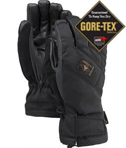 Burton Leather Gore-Tex Gloves True Black