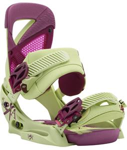Burton Lexa EST Snowboard Bindings Green Tea