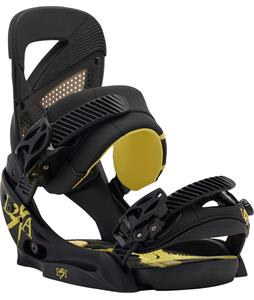Burton Lexa Est Snowboard Bindings Black/Yellow