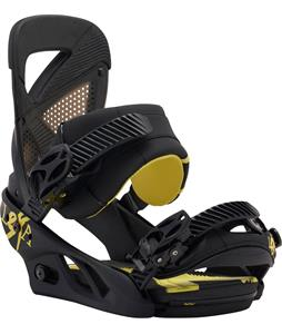 Burton Lexa Re:Flex Snowboard Bindings Black/Yellow