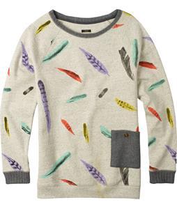 Burton Lexxon Sweatshirt Vanilla Heather Feather