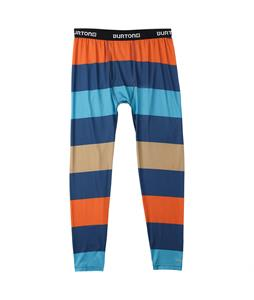 Burton Lightweight Baselayer Pants Team Blue Pop Stripe