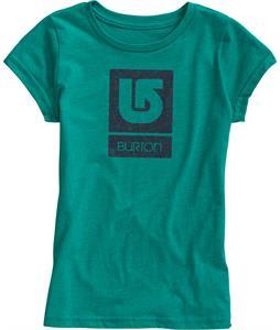 Burton Logo Fill T-Shirt Tidal Bore