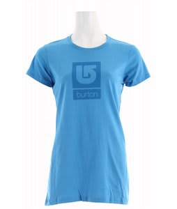Burton Logo Fill T-Shirt Lady Luck